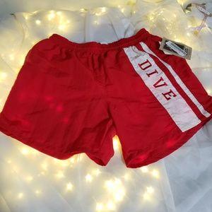 NWT Uzzi dive shorts size medium